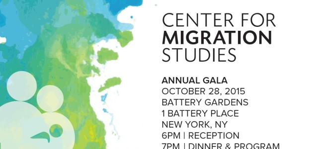 PURCHASE GALA TICKET OR SPONSORSHIP Celebrate the Center for Migration Studies!  Join government officials, policymakers, scholars, experts, civil society members, staff and colleagues for CMS's 2015 gala event celebrating the […]