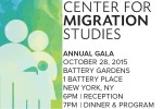 2015 Center for Migration Studies Annual Gala