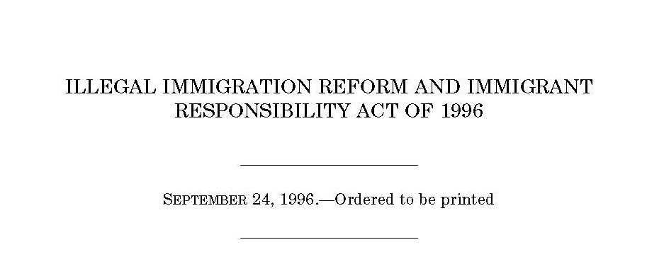 call for proposals th anniversary of the illegal immigration call for proposals 20th anniversary of the illegal immigration reform and immigrant responsibility act of 1996 iirira the center for migration studies