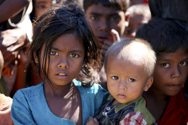 As the World Fiddles, Myanmar's Rakhine State Burns and Rohingya Flee to Bangladesh to Escape Ethnic Cleansing