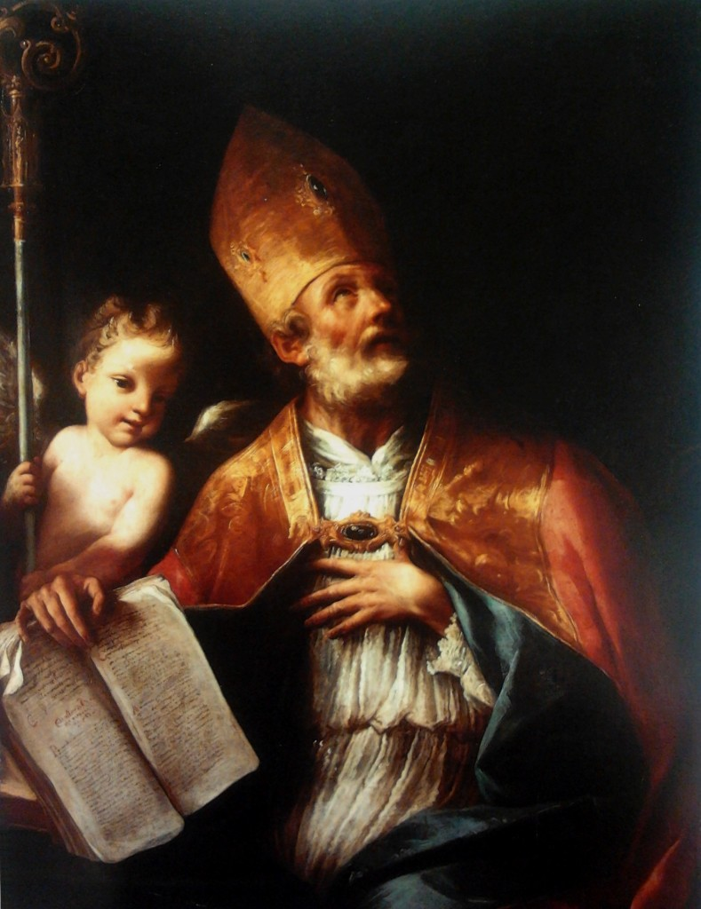 Saint Augustine by Carlo Cignani (1628-1719) (Credit: Wikimedia Commons)