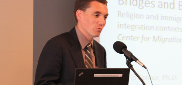 On Friday, April 26, 2013, the Center for Migration Studies (CMS) hosted a dialogue on a new study exploring the role of religion on the integration of immigrants.  The study,...