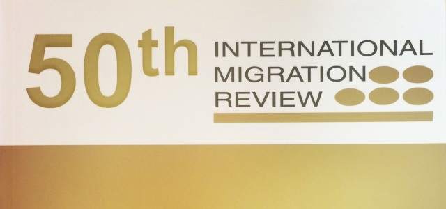 The Center for Migration Studies of New York (CMS) celebrates the 50th Anniversary of its premier publication, the International Migration Review (IMR), with the release of a Special Golden Anniversary […]