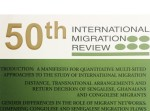 Center for Migration Studies Releases International Migration Review Winter 2014 Edition