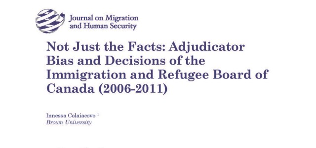 A growing body of empirical research on disparities in asylum grant rates has consistently highlighted the role of individual adjudicators in the United States. [1] The sociological characteristics of individual […]