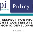 In Advance of High-Level Dialogue on International Migration, MPI Launches Policy Brief Series that Examines Evidence of the Links between Migration and Development First Brief: Does Respect for Migrants' Rights […]