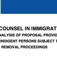 "On Friday, May 28, 2014, NERA Economic Consulting released an economic study finding that a public defender system for immigration deportation proceedings would ""pay for itself"" through cost savings in […]"