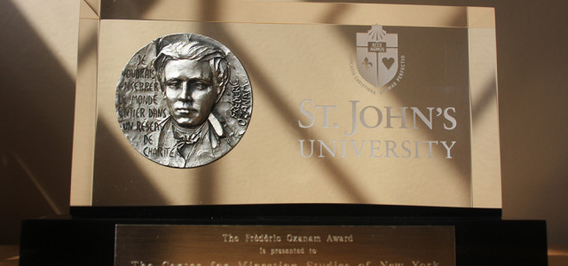 The Center for Migration Studies of New York (CMS) is proud to announce it is the recipient of the prestigious Frédéric Ozanam Award, conferred by St. John's University, in honor […]