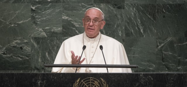 Pope Francis began his first full day in New York City at the United Nations (UN) where he first met with UN Secretary General Ban Ki-moon and greeted UN staff […]