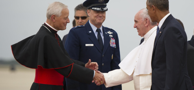 Pope Francis began his first historic visit to the United States, arriving in Washington DC on the afternoon of September 22, 2015. After greeting President Barack Obama, Vice President Joe […]