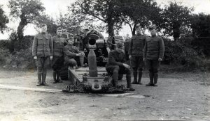 Corporal Alexander Pisciotta brought his camera when he joined the U.S. Army in France in World War I, filming a Howitzer-crew's-eye-view of the war.