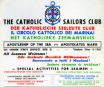 CATHOLIC MARITIME CLUBS AND THE NATIONAL CONFERENCE OF THE APOSTLESHIP OF THE SEA RECORDS, 1943-1979