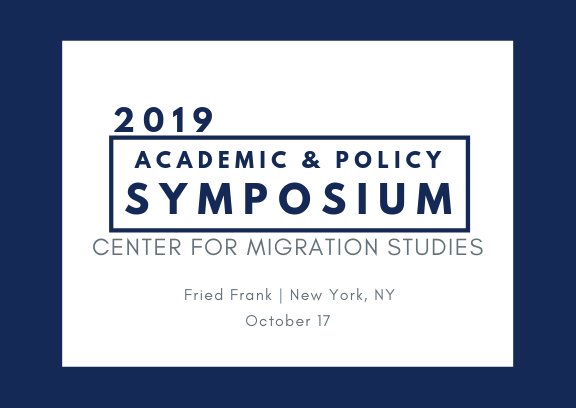 2019 Annual Academic & Policy Symposium