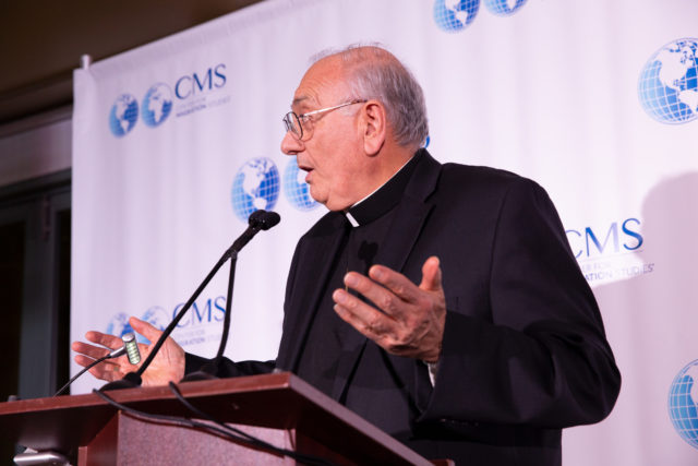 """Opening Comments by Bishop Nicholas DiMarzio at CMS Symposium on """"Forced Migration, Protection and Border Control."""""""