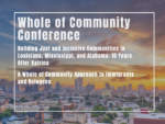 2020 Whole of Community Conference