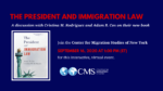 The President and Immigration Law