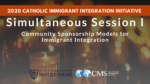 Simultaneous Session I: Community Sponsorship Models for Immigrant Integration