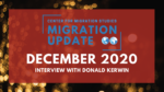 An Update on Refugees and Forcibly Displaced Persons Globally – December 2020