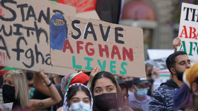 Getting Refugees Out of Afghanistan