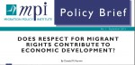 In Advance of High-level Dialogue on International Migration, MPI Launches Policy Brief Series on Migration and Development